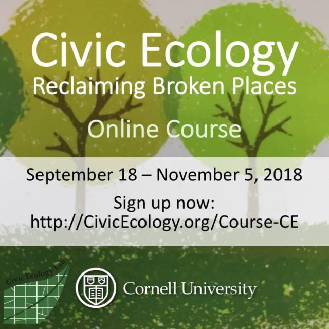 Civic Ecology | Cornell University Civic Ecology Lab
